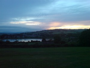 Sunrise in Colne