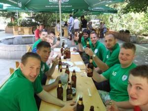 NUFC Team in Bulgaria