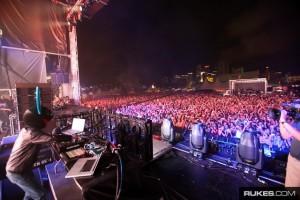 Deadmau5 at Ultra Music Festival 2009